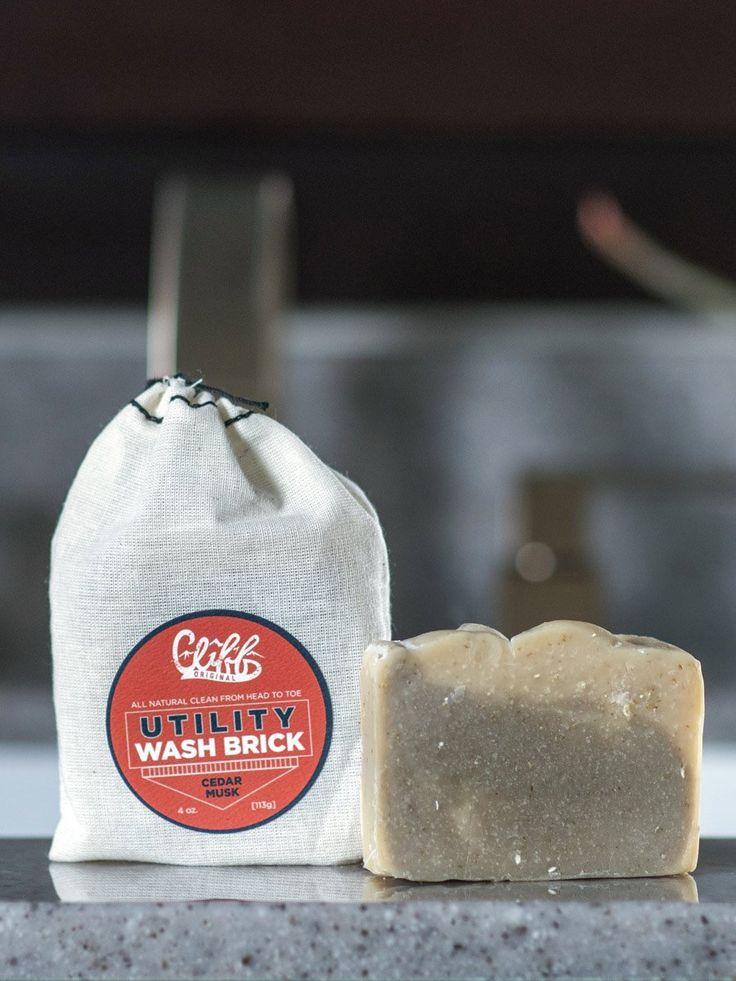 Utility Wash Brick - Cedar Musk