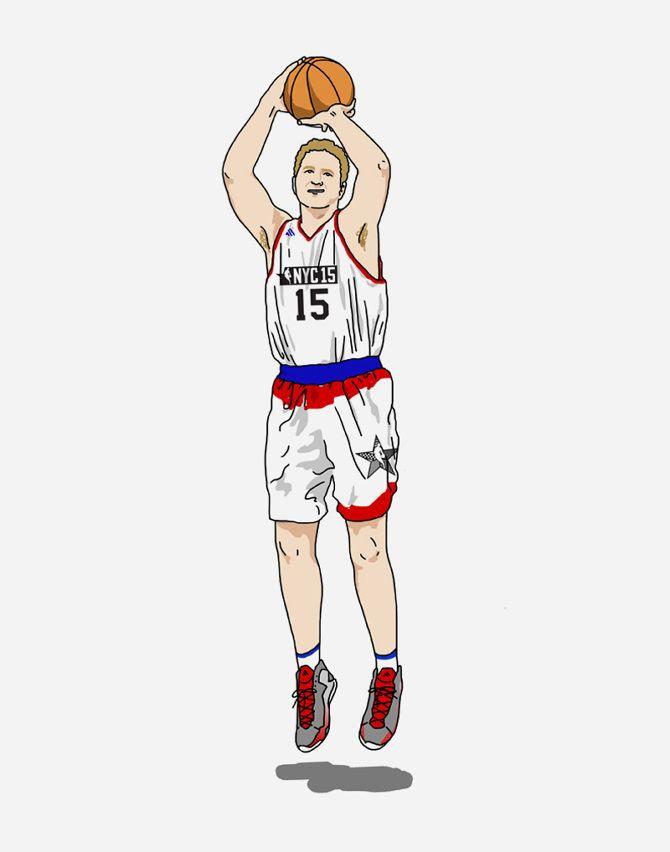NBA Commission: Michael Rapaport - Sophia Chang Design & Illustration