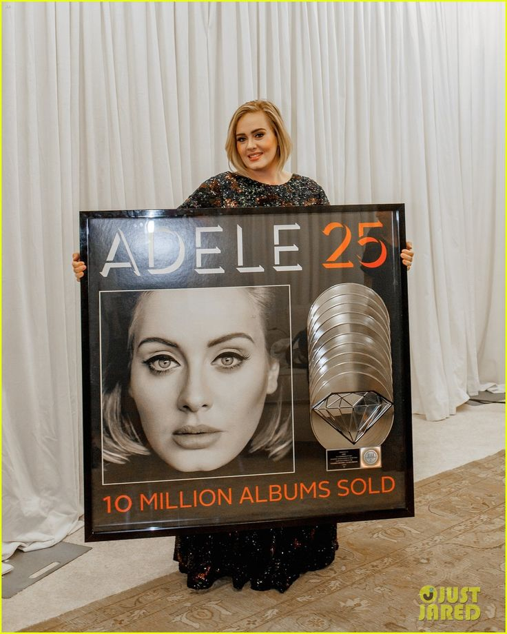 Album 25, diamante de platino