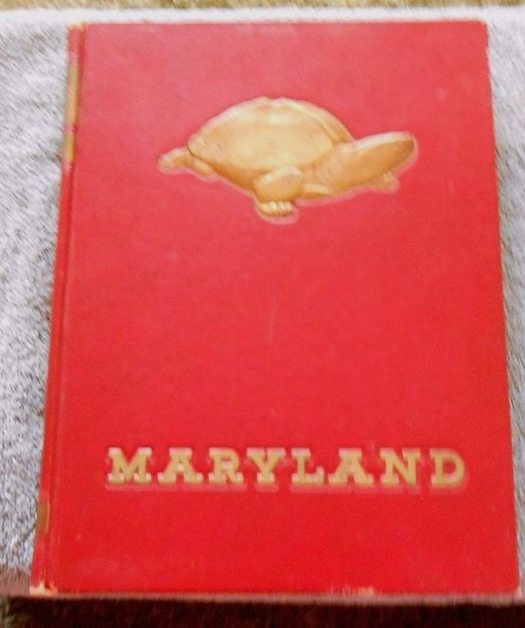 Vintage Yearbook The TERRAPIN 1948 Volume 47 University of Maryland College Park