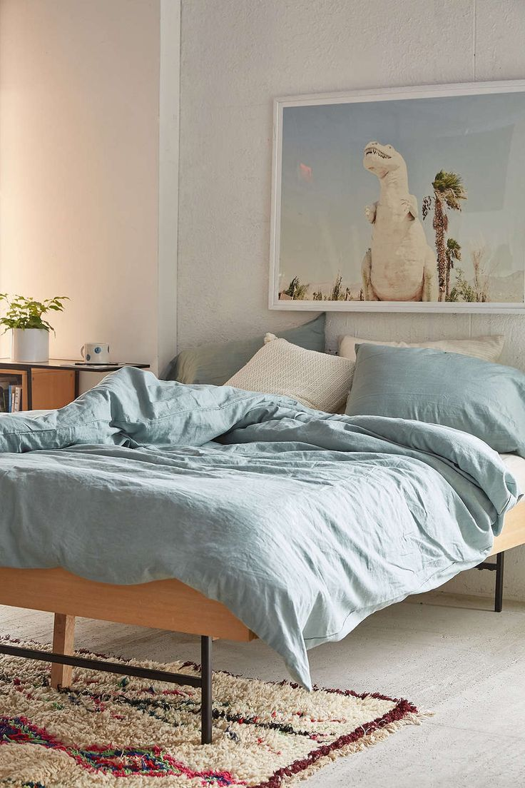 Assembly home linen blend duvet cover urban outfitters for Bedroom urban outfitters