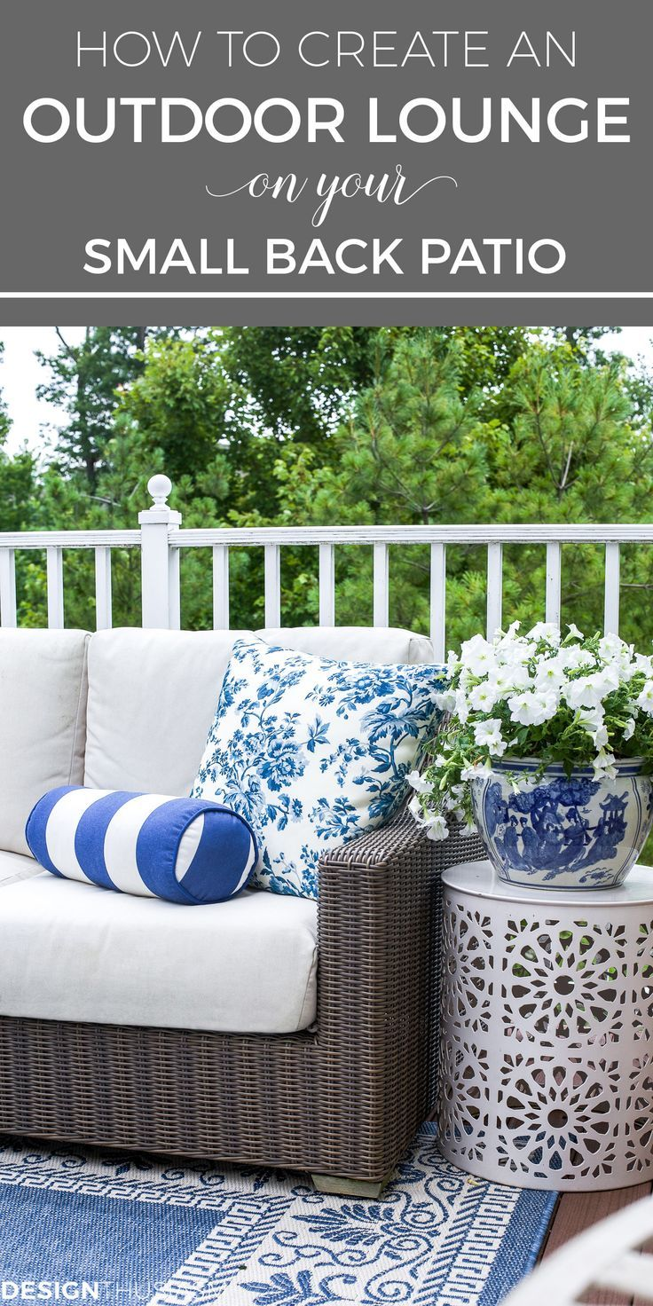Outdoor Lounge How One Piece Can Pull Your Patio Decor Together Outdoor Patio Decor Outdoor Rooms Patio Decor