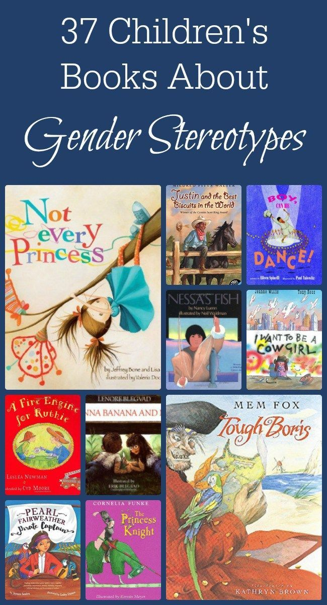 This is my favorite list of must have children's books with characters that defy gender stereotypes. The list also includes books that display other types of diversity! I love having something as easy as a book to get a conversation started about touchy subjects! #booklist #genderstereotypes www.themidlifemamas.com