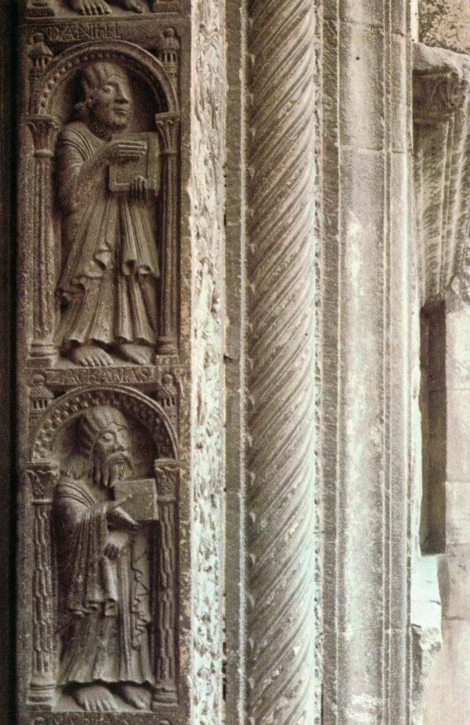 Wiligelmo, Daniel and Zacharias 1100/ 1120 Marble Cathedral of San Geminiano, Modena