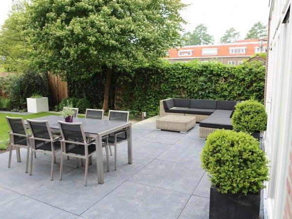 Tuinontwerp brede ondiepe tuin google zoeken garden for 14 m4s garden terrace