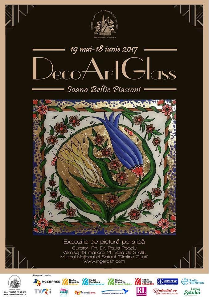 """DecoArtGlass"": Beltic Ioana Piassoni la Muzeul National al Satului ""Dimitrie Gusti"""