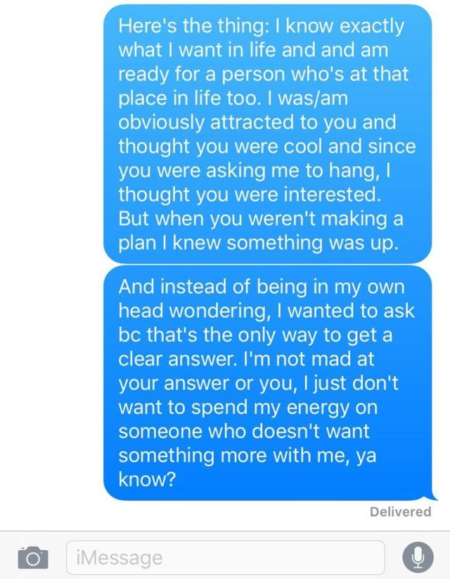 Here's the Perfect Text Response to Anyone Who's Giving You Mixed Signals