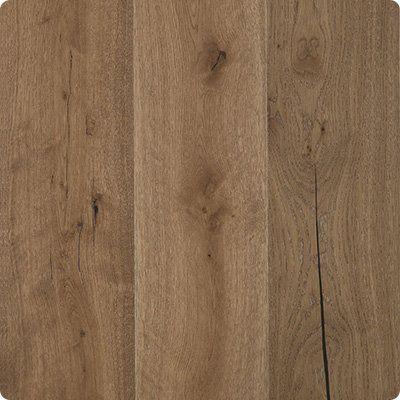 "mohawk caramel oak engineered hardwood, 7.5"" wide planks."