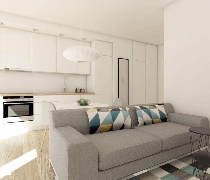 mieszkanie na warszawskiej Woli - Kuchnia, styl nowoczesny - zdjęcie od IdeaSpace