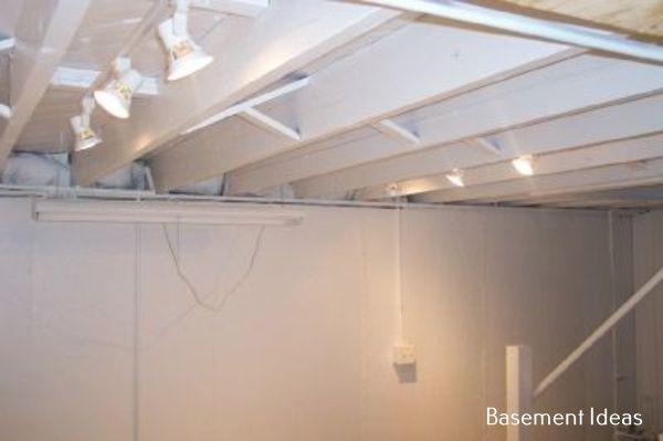 Basement Remodel Ideas Fixer Upper Basement Remodeling Low Ceiling Basement Basement Ceiling