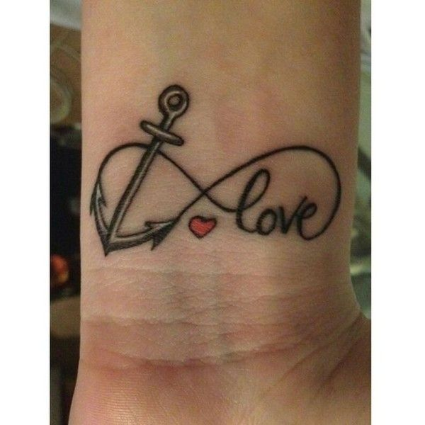 225 Heartwarming Family Tattoo Ideas That Show Your Love: Best 25+ Infinity Wrist Tattoos Ideas On Pinterest