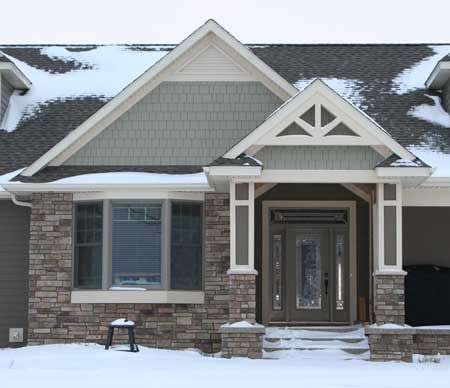 42 best roof gables images on pinterest exterior colors for Houses with gable roofs