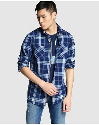 Camisa Regular de hombre Hilfiger Denim