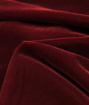 Fairvel Christmas Red Micro Velvet Fabric - $22.1 | onlinefabricstore.net