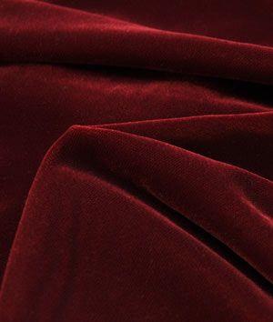 Fairvel Christmas Red Micro Velvet Fabric - $22.1 | onlinefabricstore.net