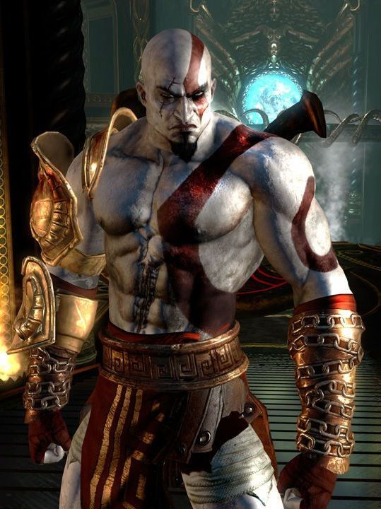 Kratos - God of War the most badass video game character.
