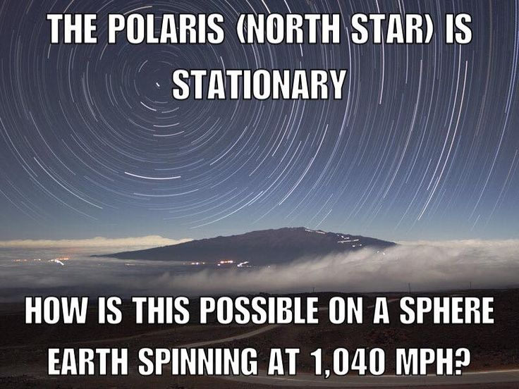 Both the Sun and Polaris are traveling around the center of the Galaxy at about the same speed and direction. Add in the vast distance between us and it adds up to a point in the sky that appears to be stationary. https://www.quora.com/Why-doesnt-Polaris-the-Pole-Star-move-if-Earth-is-revolving-around-the-sun-and-the-sun-is-also-revolving-around-the-center-of-the-galaxy #Flatearth
