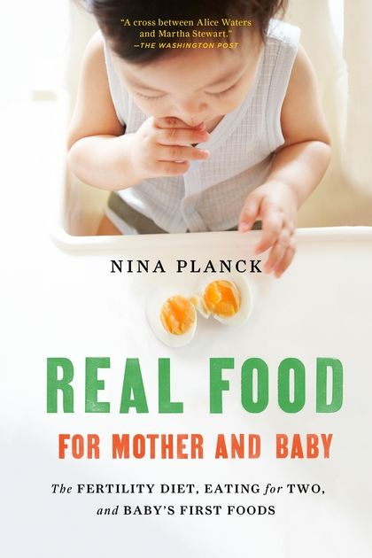 Ten years ago, Nina Planck changed the way we think about what we eat with the groundbreaking Real Food. And when Nina became pregnant, she took the same hard look at the nutritional advice for pregnancy and newborns, finding a tangle of often contradictory guidelines that seemed at odds with her own common sense. In Real Food for Mother and Baby, Nina explains why some commonly held ideas about pregnancy and infant nutrition are wrongheaded--and why real food is good for growing minds and…