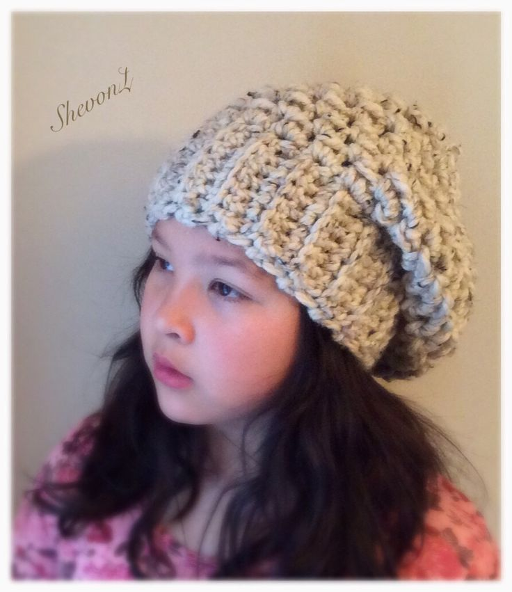 Slouchy Beret in Oatmeal ( teens and Adults). by ShevonL on Etsy https://www.etsy.com/listing/213380825/slouchy-beret-in-oatmeal-teens-and