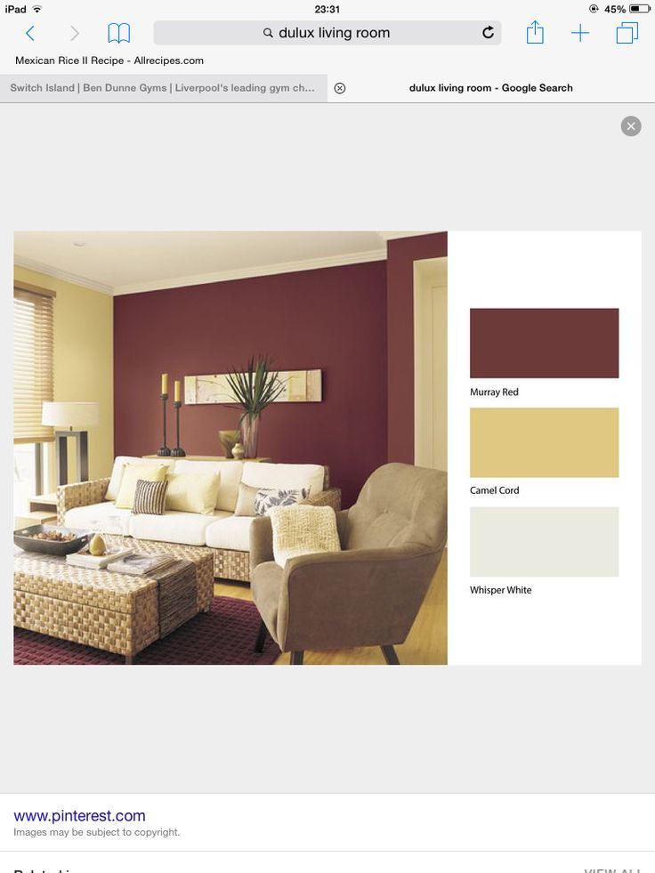 Warm Colours · Wohnzimmer Ideen