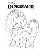 coloring page dinosaurs disney dinosaurcoloring pages - Disney Dinosaur Coloring Pages