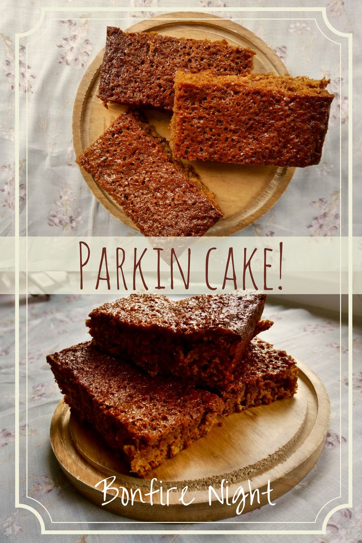 This traditional Parkin Recipe is everything you could want for your Bonfire Night celebrations! Dense, sticky and sweet, filled with Autumnal spices, this is the perfect fall recipe.