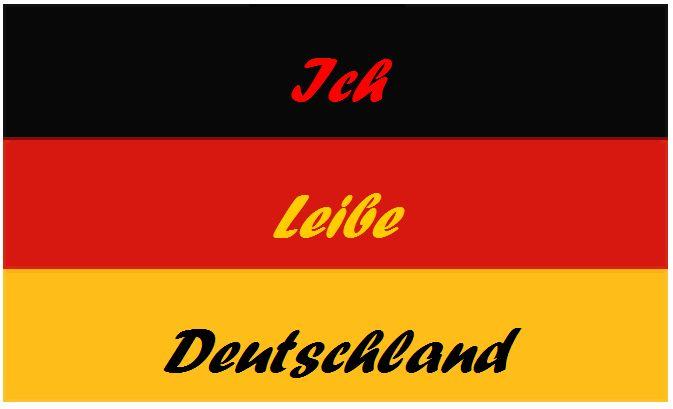 Ich liebe Deutschland