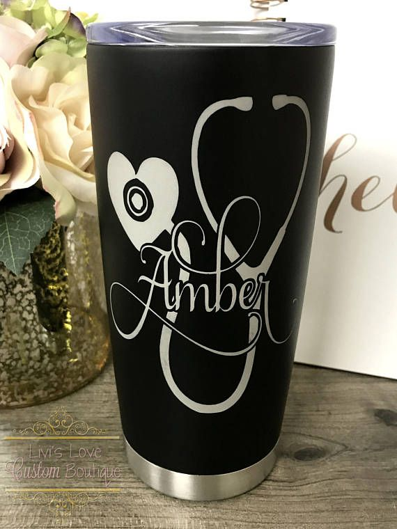 Nurse Gift Personalized Nurse Mug Coffee Travel Tumbler
