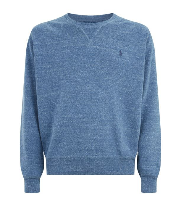 8b4b969de85b2 Polo Ralph Lauren Crew Neck Sweater available to buy at Harrods.Shop  clothing online and