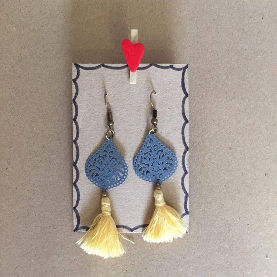 Tassel Earrings, earrings, gift for her,