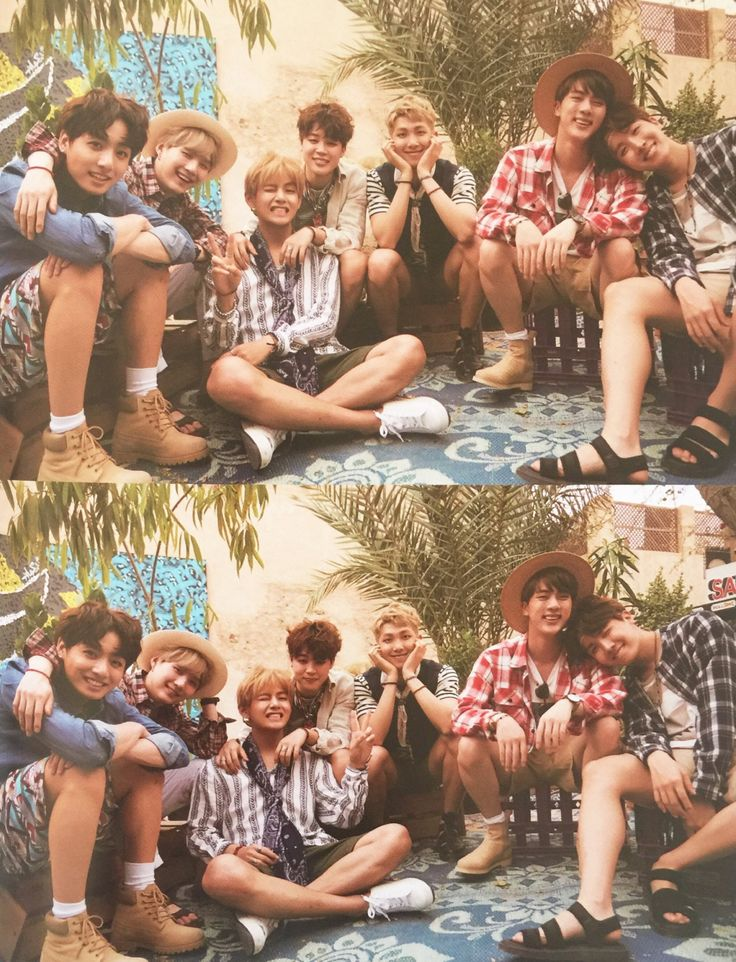 the cutest family ever :') - BTS summer package Dubai 2016 | @jetblacklove