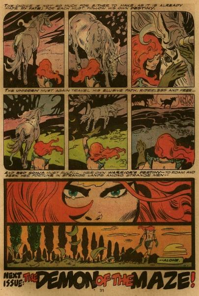 Red Sonja #1, Frank Thorne