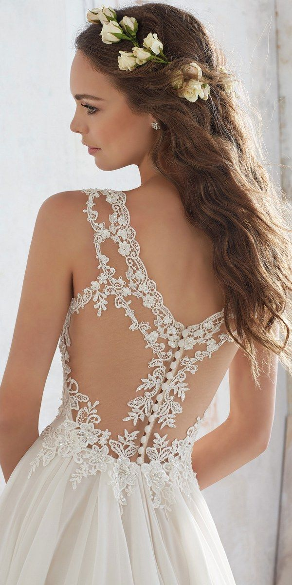 Morilee by Madeline Gardner - Blu Wedding Dresses 2017 / http://www.deerpearlflowers.com/morilee-by-madeline-gardners-blu-wedding-dresses-collection/
