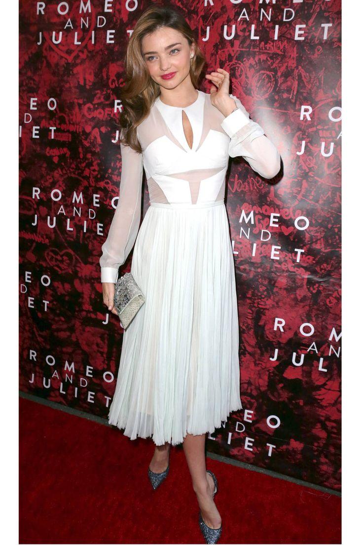White dress (Miranda Kerr) http://thesaltybloom.blogspot.it/