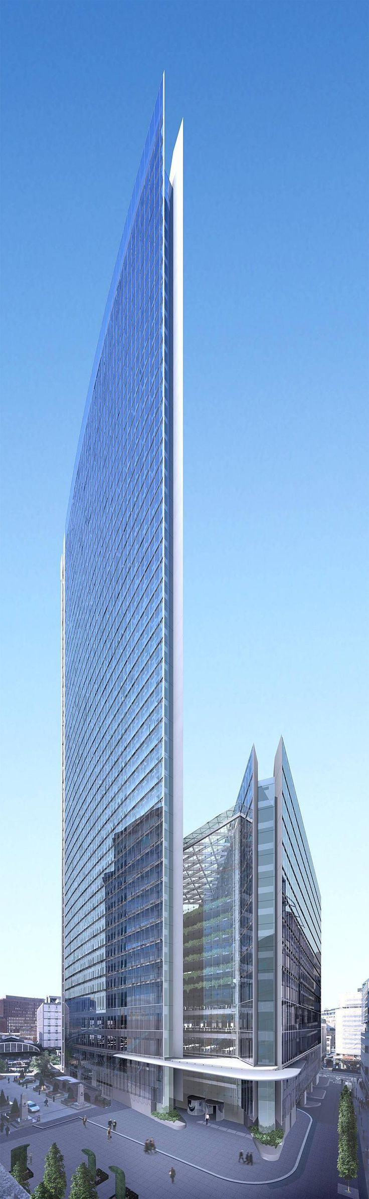 The Minerva Building and new plaza  #RealEstate #ArtfulArchitecture    See more at: http://castlesmart.com/