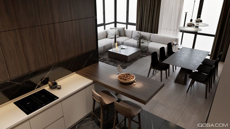 Lipki apartment on Behance