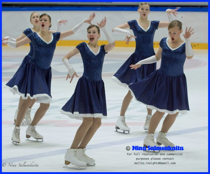Team Dynamique (Novice A) FIN at Finnish Nationals Feb 2014