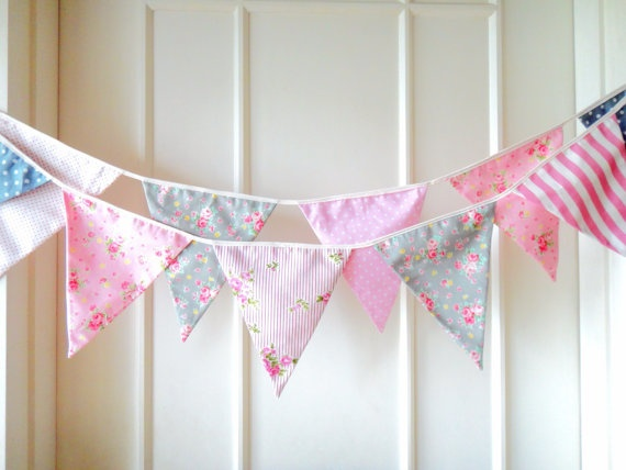 shabby chic bunting - photo #7