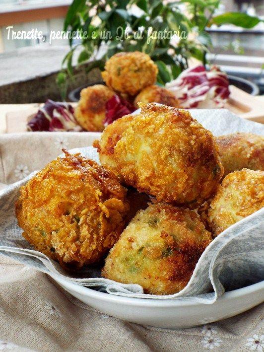 Polpette croccanti di tacchino, patate e piselli…al forno - Ricette Blogger Riunite