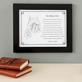 My Daddy or Grandpa\\\'s Hand Print My Daddy s Hand Poem Daddy