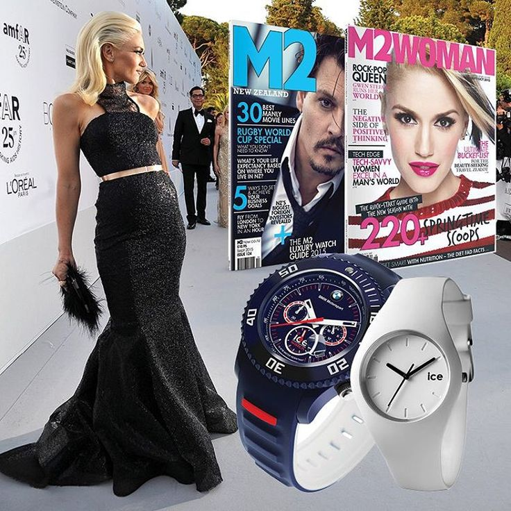 Treat yourself and a loved one and subscribe to our his and hers ice watch offer for only $159.95!! There doesn't need to be an occasion to treat yourself  visit the link in our bio #icewatch #magazine #johnnydepp #gwenstefani #m2 #m2woman