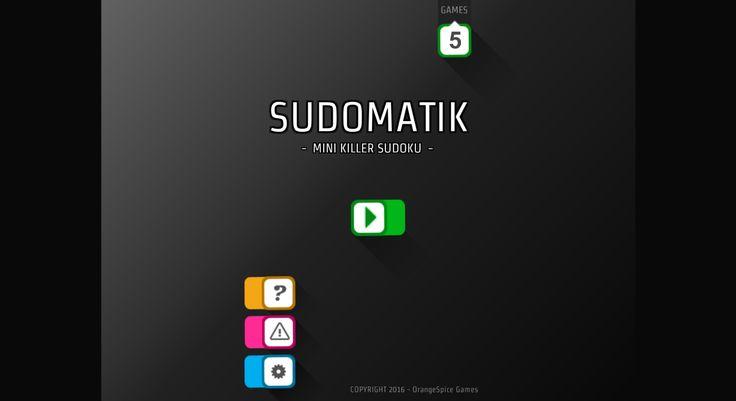 Mini Killer Sudoku - SUDOMATIK