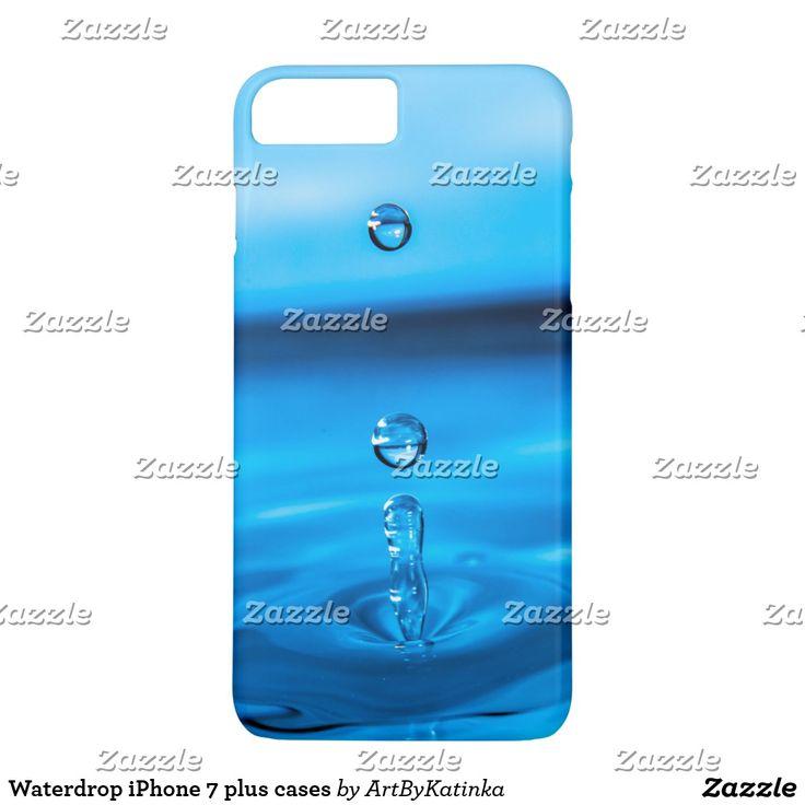 Waterdrop iPhone 7 plus cases