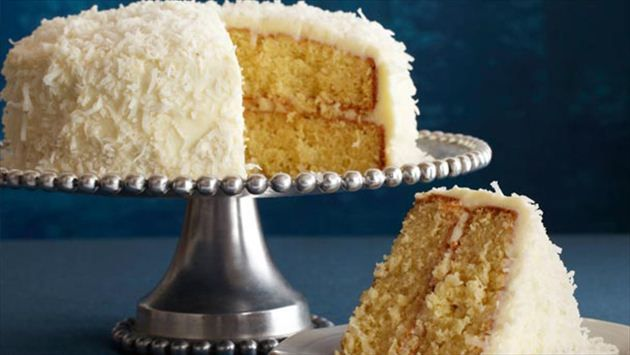 Get this all-star, easy-to-follow Coconut Cake recipe from Ina Garten