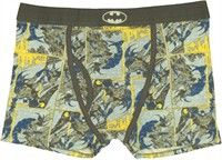 Batman Panel Collage Boxer Briefs A collage of action panels from Batman comic books makes these Batman boxer briefs a colorful and fun addi...