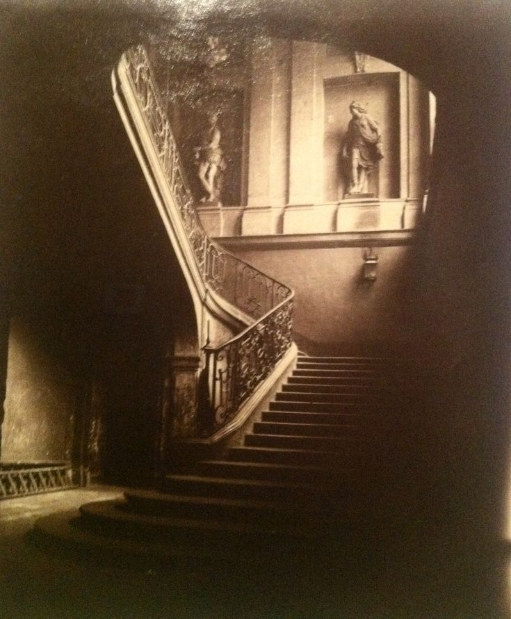 Eugène Atget-another spell-binding stairway