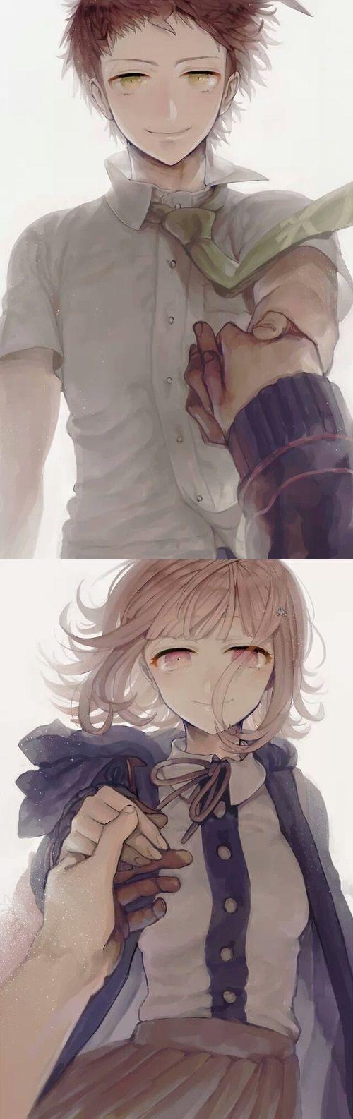 Nanami Chiaki ♥ Hajime Hinata