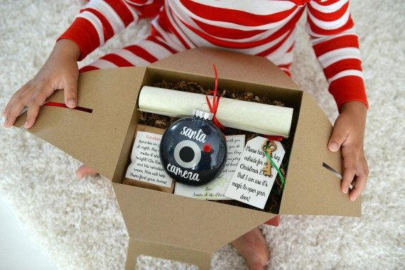Bring magic to your little one's holiday season with our Magic Santa Letter Box!