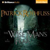 "The Wise Man's Fear by Partrick Rothfuss: ""My name is Kvothe. I have stolen princesses back from sleeping barrow kings. I burned down the town of Trebon. I have spent the night with Felurian and left with both my sanity and my life. I was expelled from the University at a younger age than most people are allowed in. I tread paths by moonlight that others fear to speak of during day. I have talked to Gods, loved women, and written songs that make the minstrels weep...."""