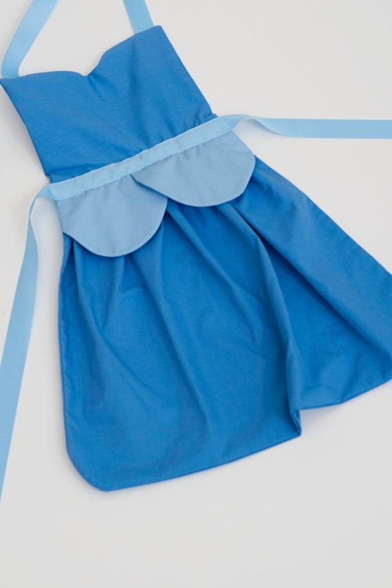 princess+Cinderella+dress+up+apron+3+sizes+fit+by+SimplyRoyalDress,+$24.00